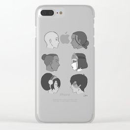 gaang Clear iPhone Case