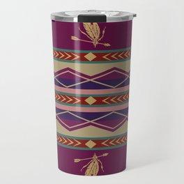 American Native Pattern No. 104 Travel Mug
