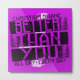 Christian Shane AD ED Metal Print