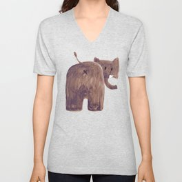 Elephant's butt Unisex V-Neck