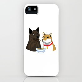 Ramen Date iPhone Case