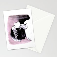 No Nonsense About Angels And Being Good Stationery Cards