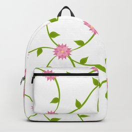Flowers on a Vine Backpack
