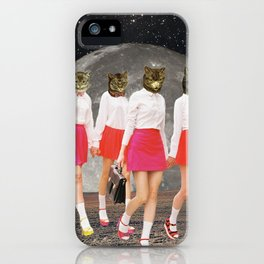 Kitty Gang iPhone Case