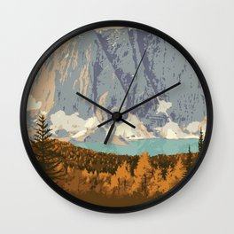 Kootenay National Park Wall Clock