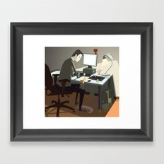 pc Framed Art Print