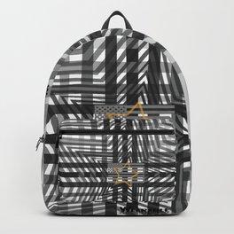 Stars and tripes Americana Greytone Backpack