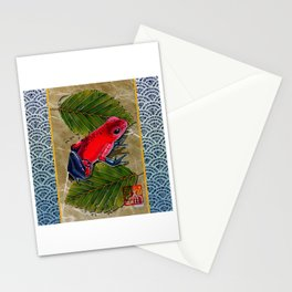DW-002 Floating Frog Stationery Cards