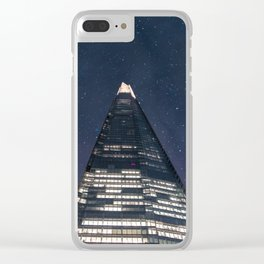 The Shard - Night Sky Clear iPhone Case