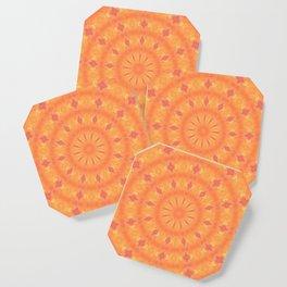Flaming Sun Coaster
