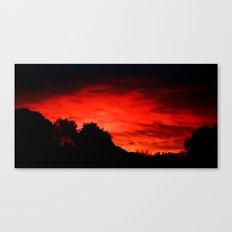 Daybreak - Painting Style Canvas Print