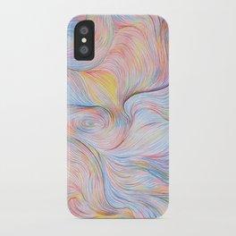Wind I - Colored Pencil iPhone Case