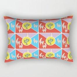 Llama and Alpaca Rectangular Pillow
