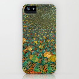 Swimming guppy iPhone Case