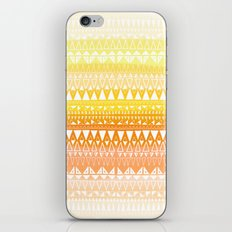 Triangle Gradient Gold Mix iPhone & iPod Skin