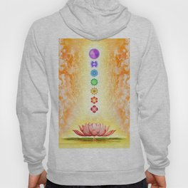 Sacred Lotus - The Seven Chakras Hoody