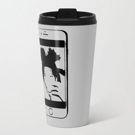Basquiat Metal Travel Mug