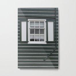 Quaint old house of Marken, Holland Metal Print