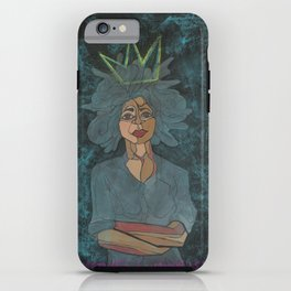 Sometimes a Woman is King iPhone Case