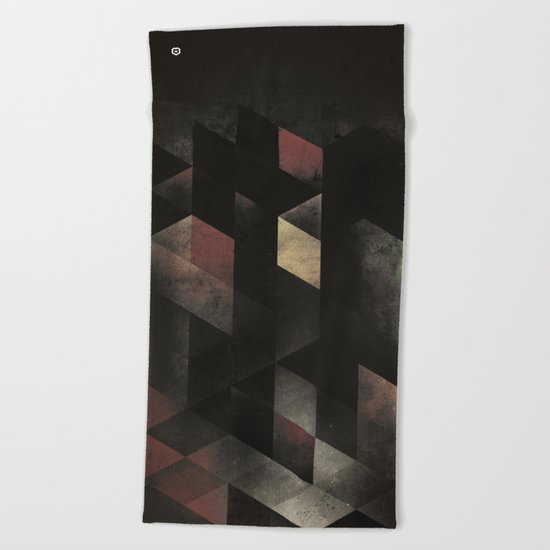 th' cyge Beach Towel