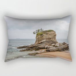 Camel Beach Landscape Rectangular Pillow
