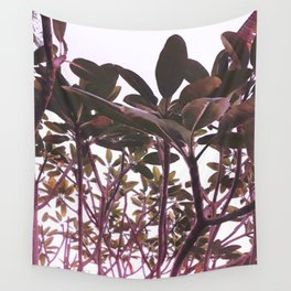 Canopy in Mauve Wall Tapestry