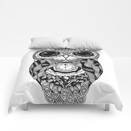 Owl of Time Comforters