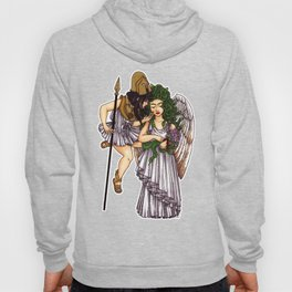 Athena and Medusa Hoody