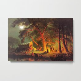 "Albert Bierstadt's ""Oregon Trail"" 1886 Metal Print"