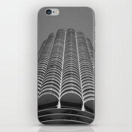 Marina City Tower Photo, Chicago, Architecture iPhone Skin