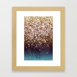 Glitteresques XIV Framed Art Print