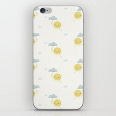 Little Sun white iPhone & iPod Skin