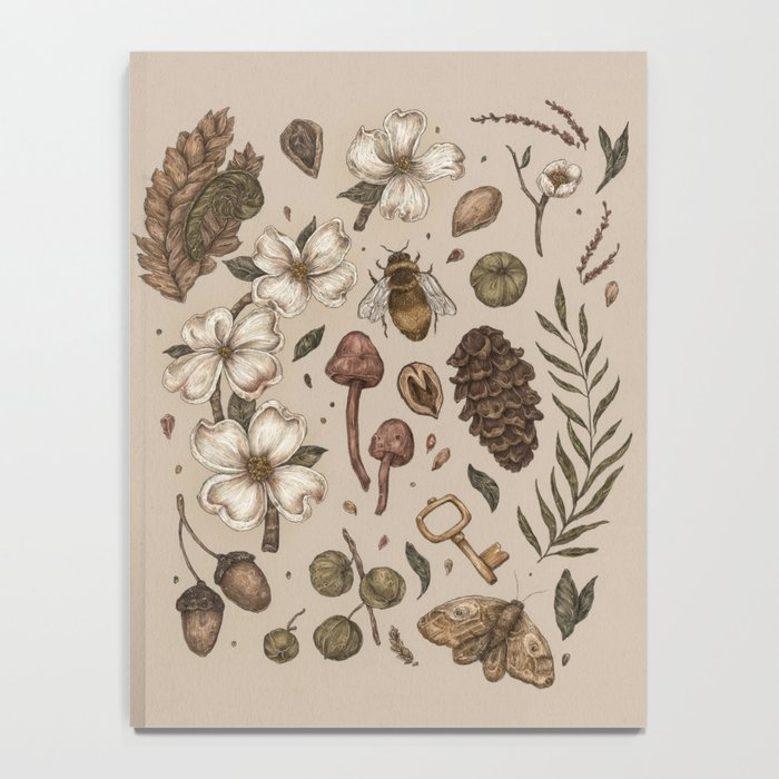 Nature Walks (Light Background) Notebook