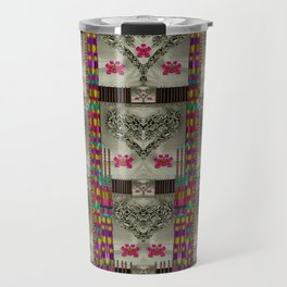 wings of love in peace and freedom Travel Mug