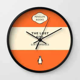 D. H. Lawrence - The Lost Girl Wall Clock