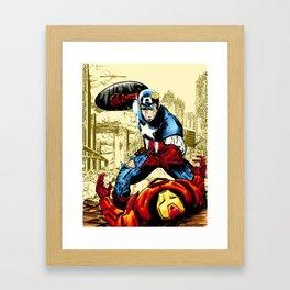 Civil War, Hail Hydra! Framed Art Print
