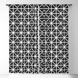 Minimal Black + White Pattern Blackout Curtain