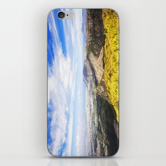 View of Silvermine and False Bay iPhone & iPod Skin