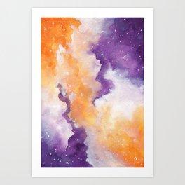 Spooky Galaxy Art Print