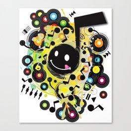 Quaver(S) Canvas Print
