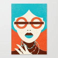 Underground Fashion Canvas Print