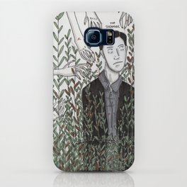 The Stranger in the grass iPhone Case