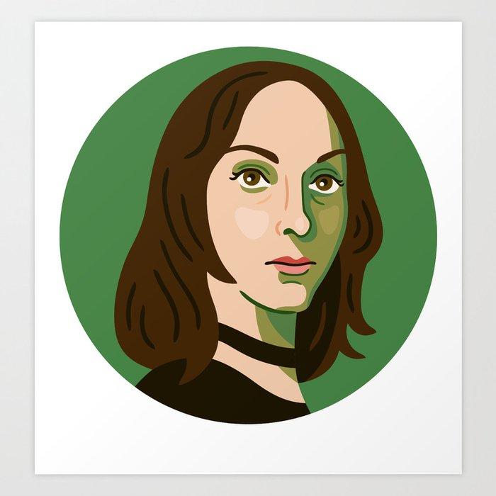 Queer Portrait - Jeffrey Catherine Jones Art Print