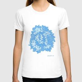 March's Blue 4 | Artline Drawing Pens Sketch T-shirt