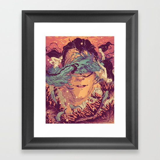 Legacy Lost Framed Art Print