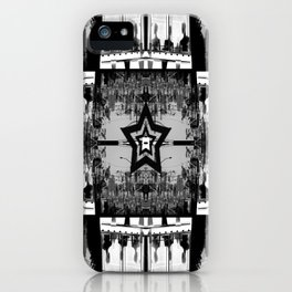 Masking The Inhuman Populace iPhone Case