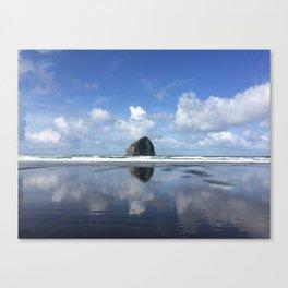 Islands on the coast Canvas Print