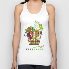 Shop Green Unisex Tank Top
