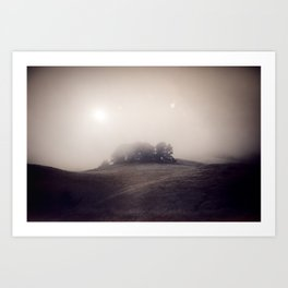 Explorations with Space: No. 4 Art Print