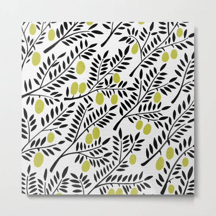 Little Lemons Metal Print